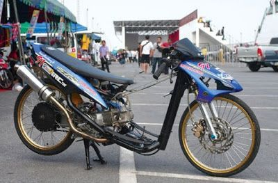 Gambar Modifikasi Motor Drag Mio Modifikasi Motor Drag