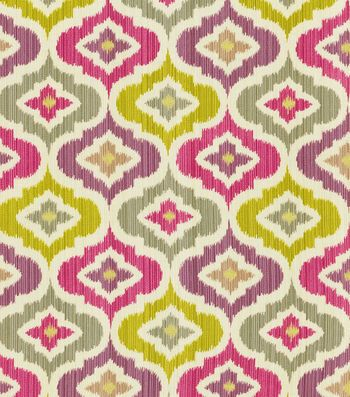 Waverly Print Fabric-Lunar Lattice/Passion | Home ideas | Pinterest ...