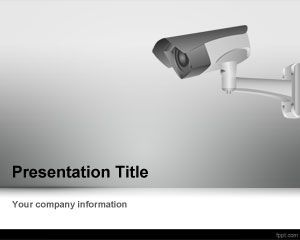 Cctv camera powerpoint template is a gray powerpoint template for free cctv camera powerpoint template background with security camera and great for information management and security ppt templates toneelgroepblik Image collections