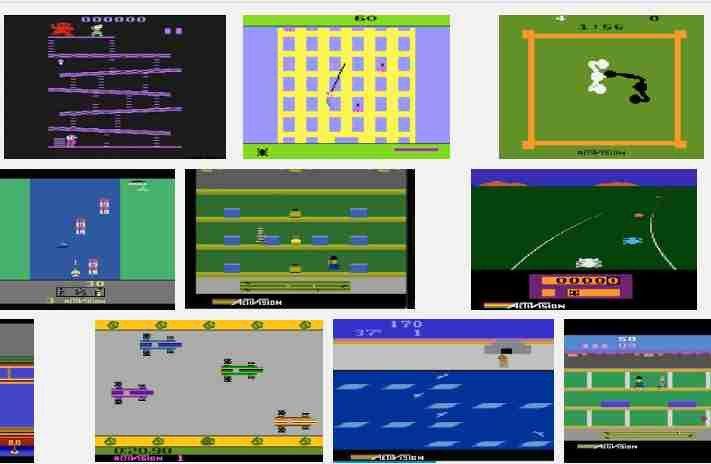 Jugar Antiguos Juegos Tipo 2600 Atari En La Parte Descarga Dar
