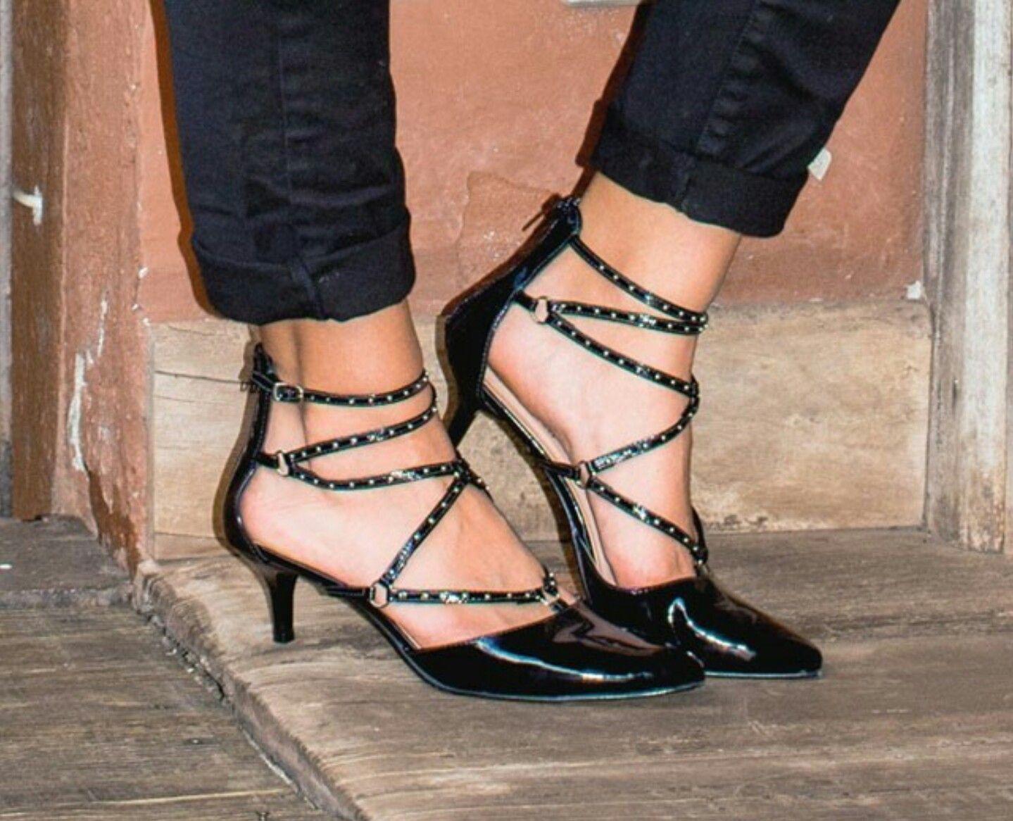 06ce2acfe Salto baixo Constance | Pisando | Sapatos, Sapatos da moda, Saltos ...
