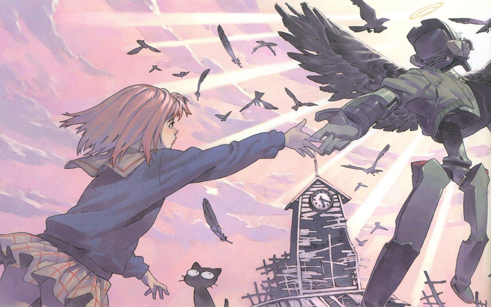 Anime 1680x1050 FLCL Flcl, Anime artwork, Anime