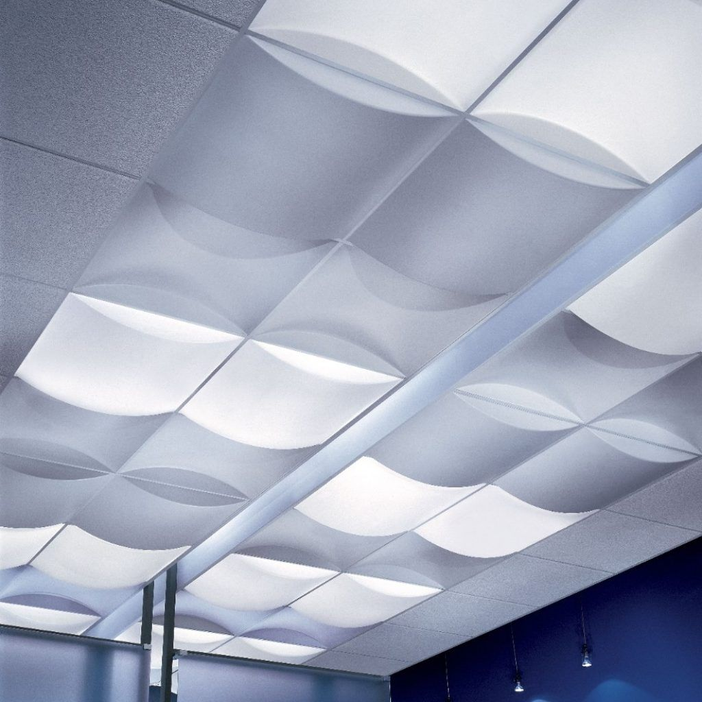 Topo 3d Ceiling Tiles From Usg Drop Ceiling Lighting Ceiling Tiles Ceiling Panels