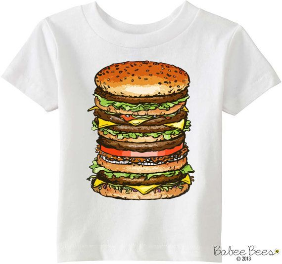 Hamburger Shirt Hamburger Costume Foodie Baby Gift by BabeeBees  sc 1 st  Pinterest & Hamburger Shirt Hamburger Costume Foodie Baby Gift by BabeeBees ...