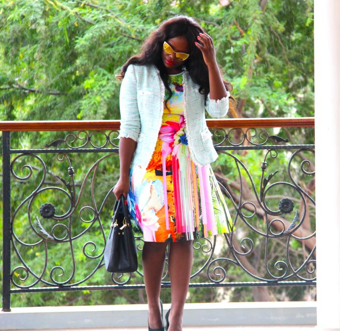 Bold approach by blogger @vintageeva
