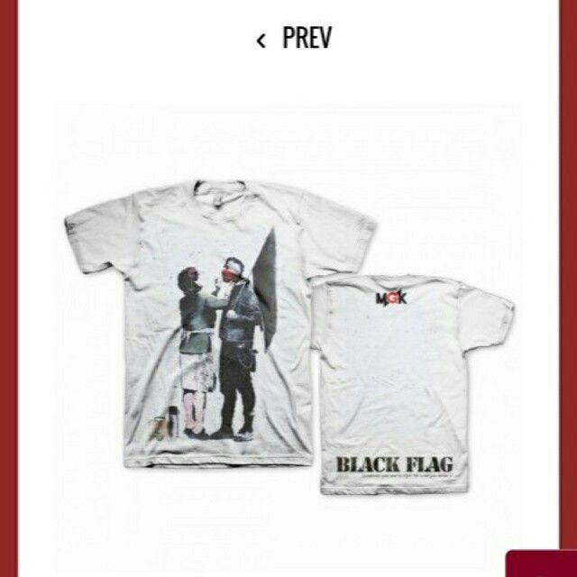 Another Mgk Shirt This Is The Black Flag Shirt I Have To Have Thos One Too
