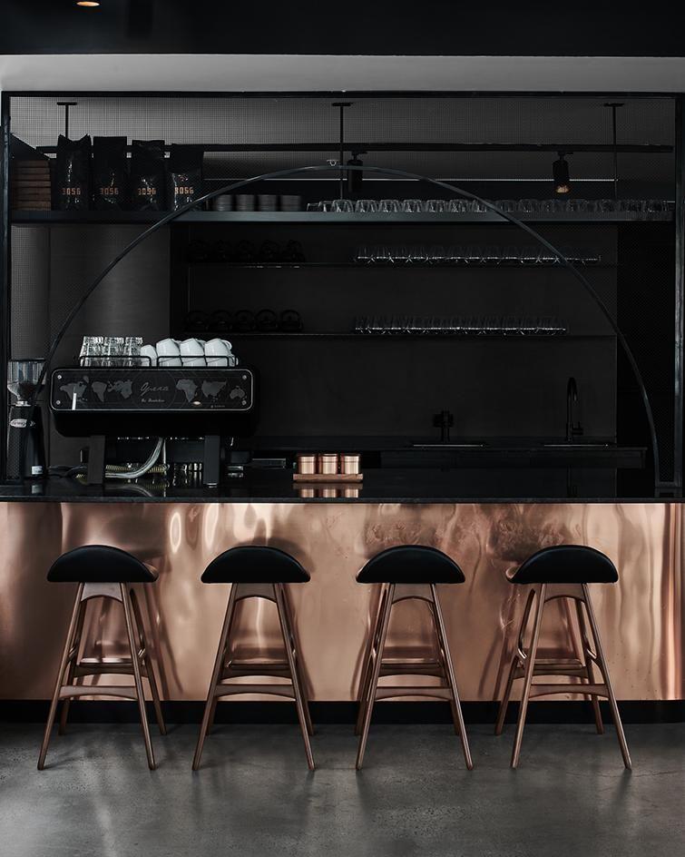 Jamu Melbourne Australia Bar Interior Design Bar Design Restaurant Cafe Interior Design