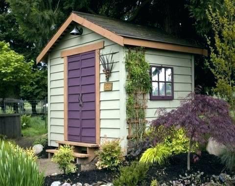 Garden Shed Paint Ideas Storage Shelving Color Colour Gard Backyard Storage Sheds Cottage Garden Sheds Shed Makeover