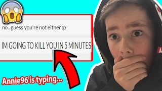 The CREEPIEST Text Ever | annie96 is typing    - YouTube