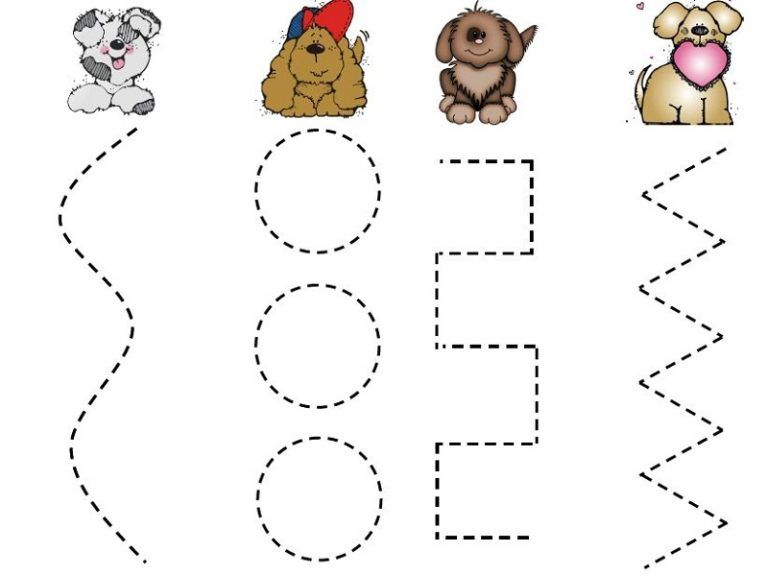 Fun Two Years Old Worksheets Activities For 2 Year Olds