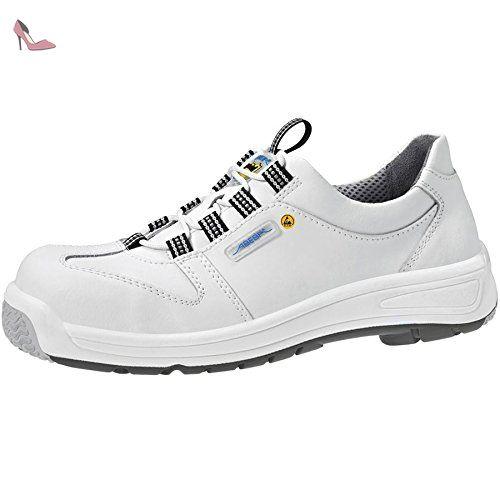 Abeba Static Control Chaussure de sécurité bas Taille 47 Blanc RMvJz3Mj