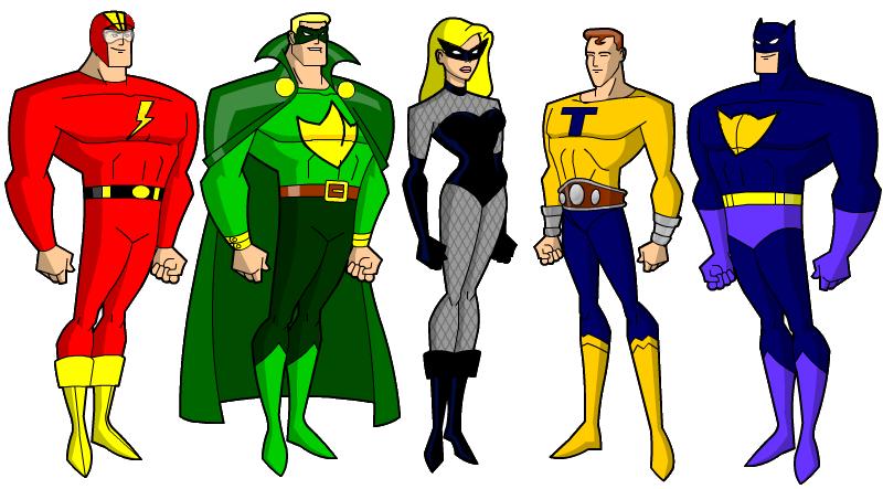 Justice Guild via Hero Creator by Gwhitmore deviantart com on