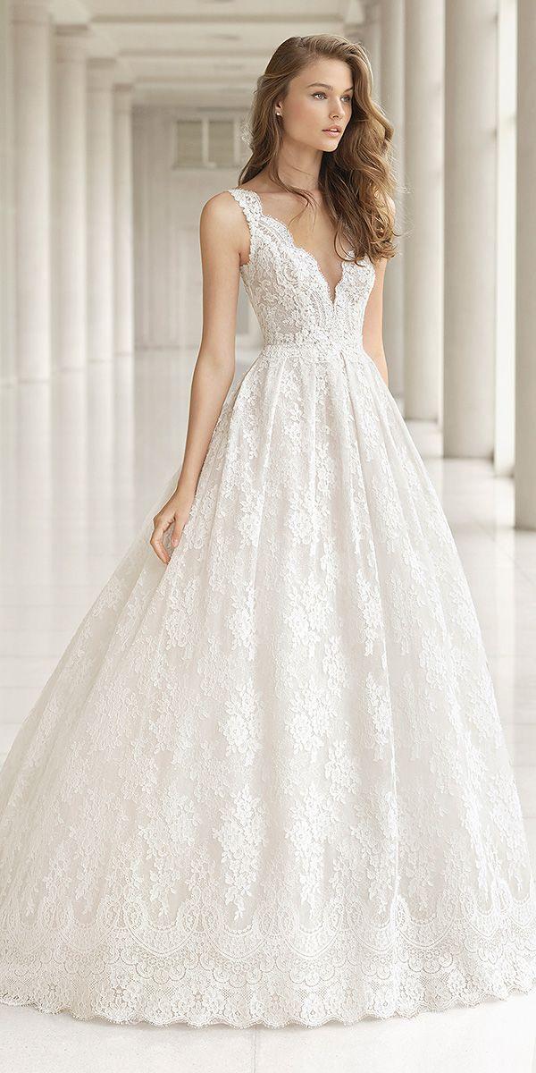 Rosa Clara Wedding Dresses 2018 For Romantic Bride | Pinterest ...