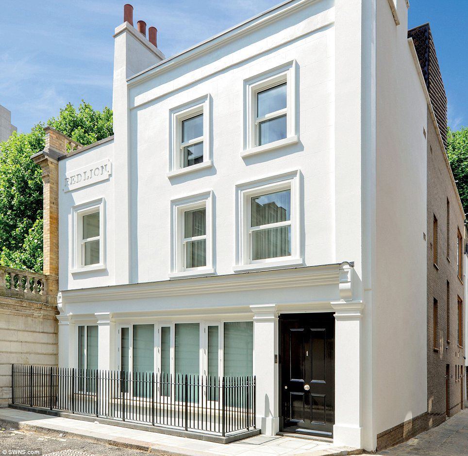 Mayfair pub transformed into £25million five-bedroom home with ...