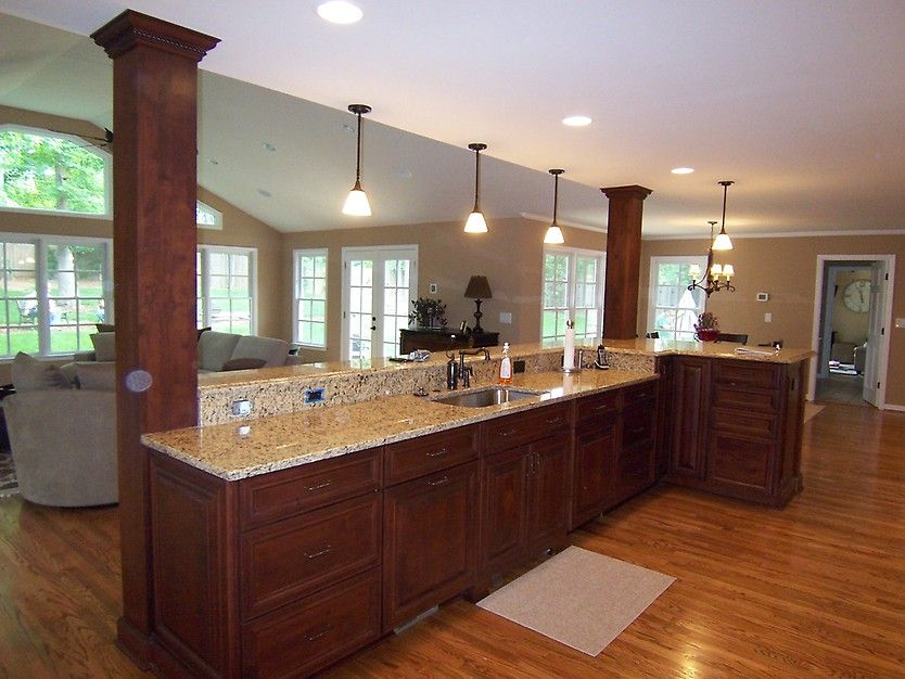 Elegant Kitchen Remodel And Home Addition By Ak Complete Home Renovations Kitchen Pinterest