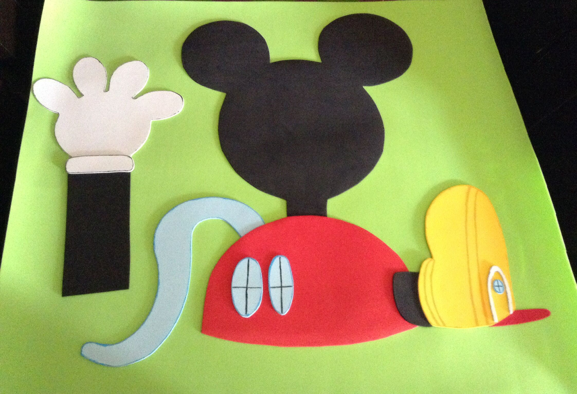 87f16912a87 La casa de mickey mouse fomi