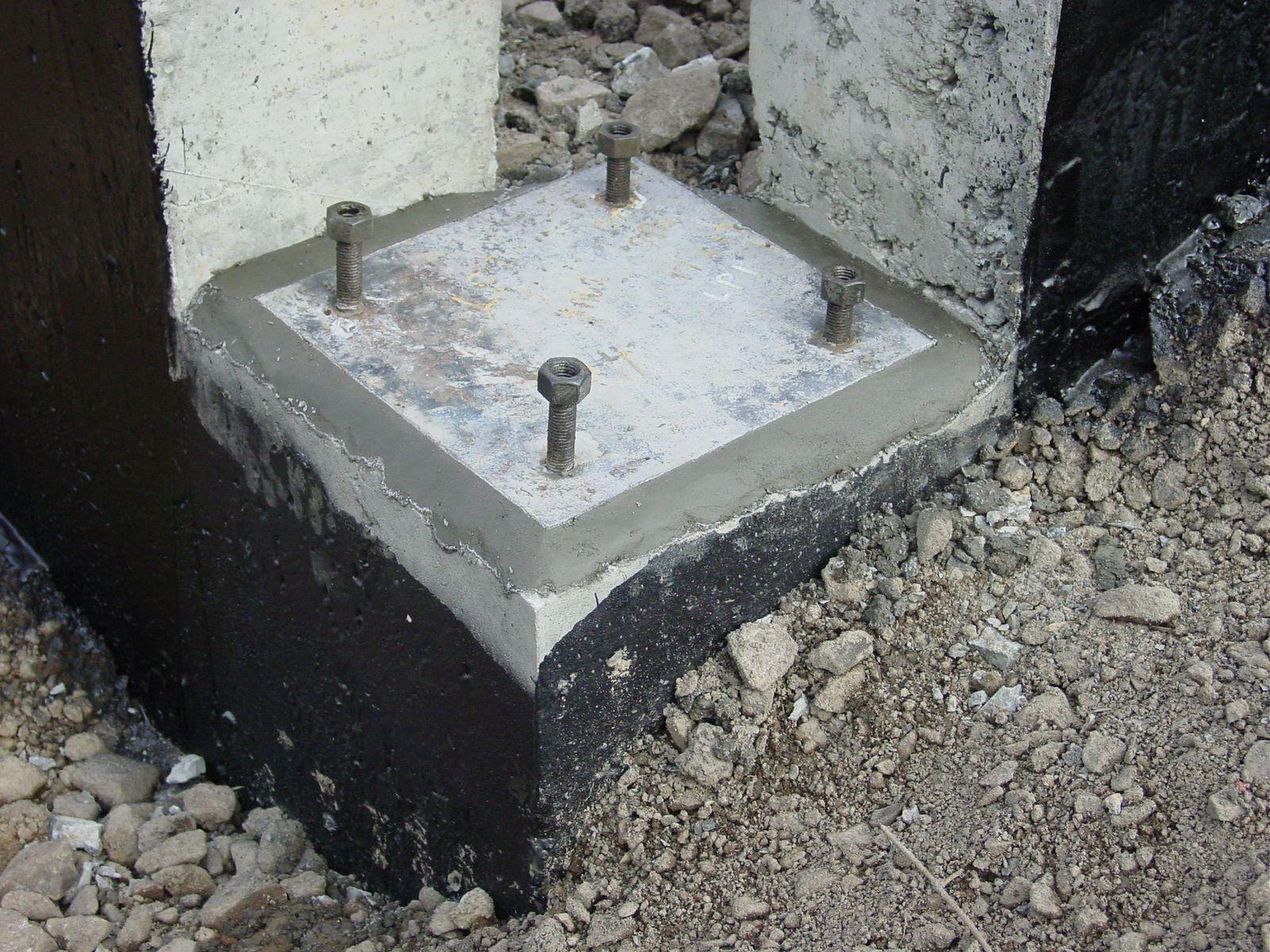 Concrete Base Plate Austin Tx Week 8 Titanium