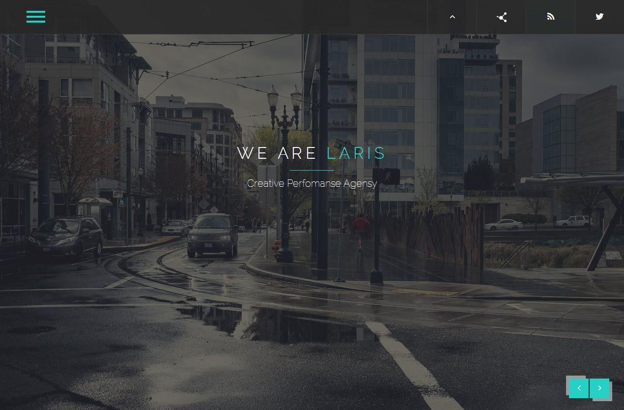 Laris - Premium Responsive Retina Parallax Multipurpose HTML5 ...