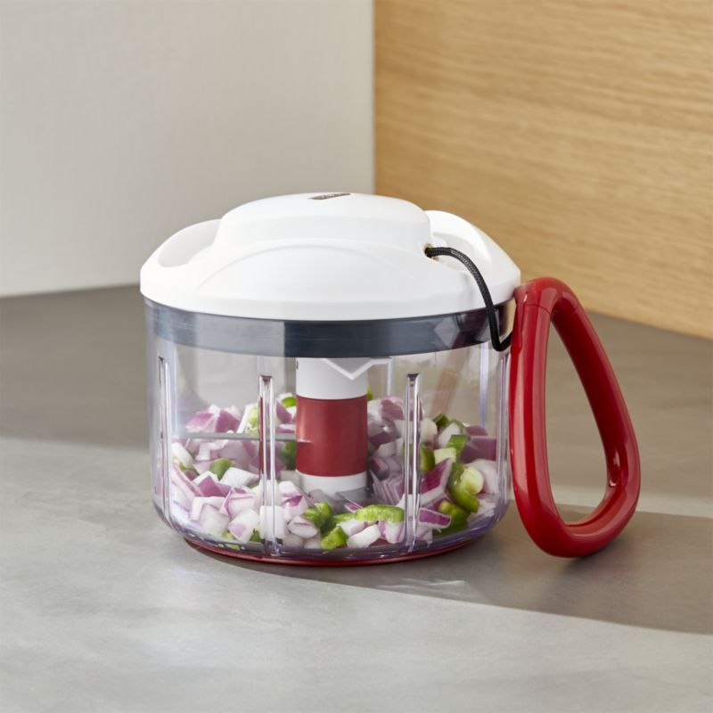 Free Shipping Shop Zyliss Easy Pull Manual Food Processor With
