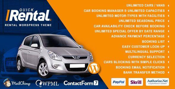 Quick Rental - Vehicles Booking WordPress Theme - http://www.imafiashare.com/templates/wordpress/quick-rental-vehicles-booking-wordpress-theme/