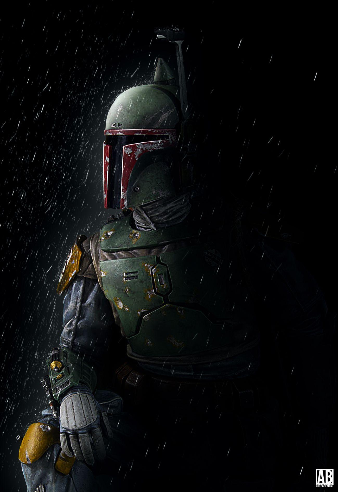 Boba Fett Poster By Artbasement On Deviantart Star Wars Wallpaper Star Wars Fan Art Star Wars Art