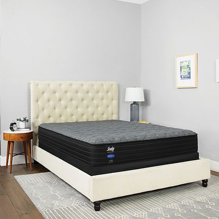 Sealy Chestnut Street Plush Pillow Top - Mattress + Box Spring #pillowtopmattress