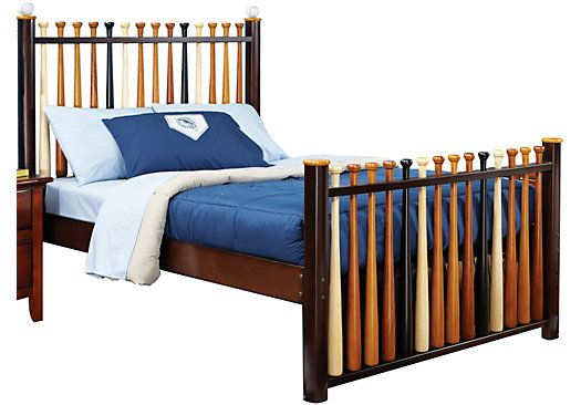 Shop For A Batter Up 3 Pc Full Baseball Bed At Rooms To Go Kids