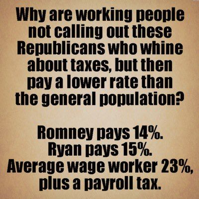 """How To Call Out Of Work Whatever Romney Pays In """"income"""" Taxes His Capital Gains Tax On All ."""
