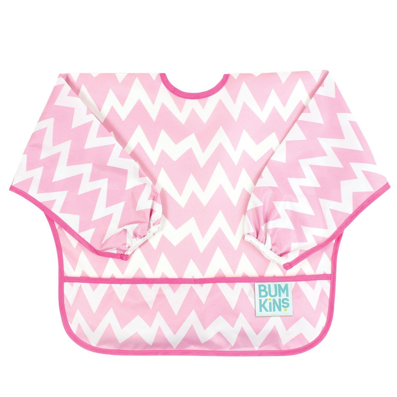 Pink Bumkins Waterproof Bandana Bib