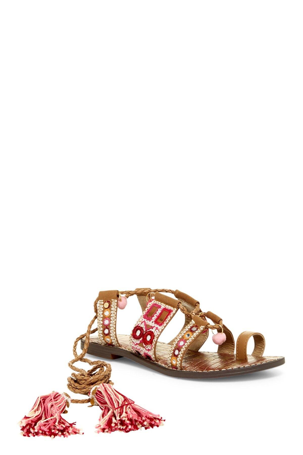 e5036f569ce1f3 Sam Edelman 45% off!!  59 - Gretchen Embellished lace up sandal ...