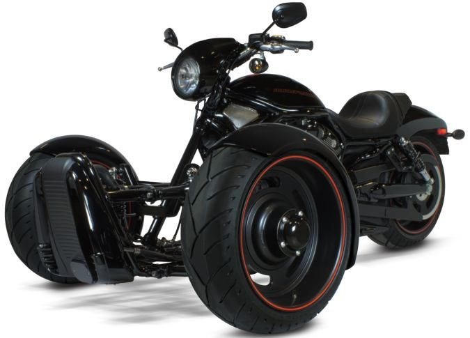 Scorpion Kit Or How To Convert Your Harley Into A Cool Reverse Trike Reverse Trike Trike Kits Harley V Rod