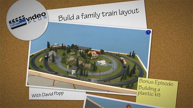 Family Train Layout: Bonus Episode - building a plastic kit | ModelRailroaderVideoPlus.com