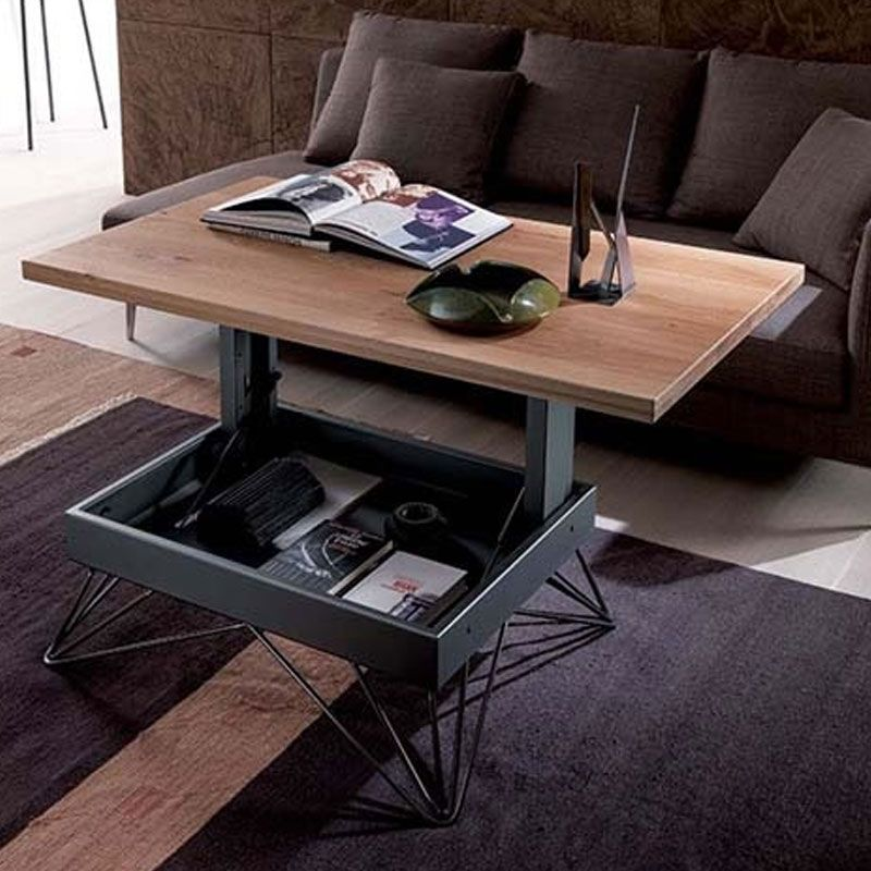 Radius Table By Ozzio Italia This Cool Coffee Table Features