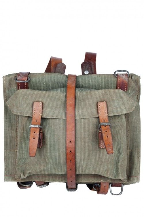 1940's swiss army backpacks sold by Atelier de L'armee ...