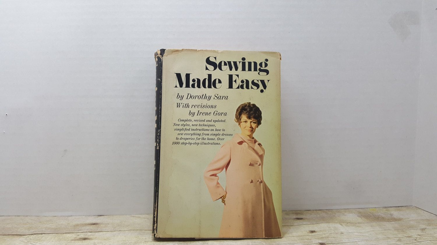 Sewing Made Easy, 1969, Dorothy Sara, Irene Gora, vintage sewing book by RandomGoodsBookRoom on Etsy