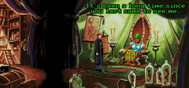 Gabriel Knight meets Voodoo Lady