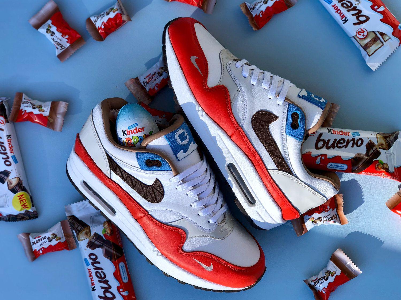 Nike Kinder Bueno, une édition limitée à seulement 8 exemplaires   INNOVATION,  INSOLITE 8102bb1d6261