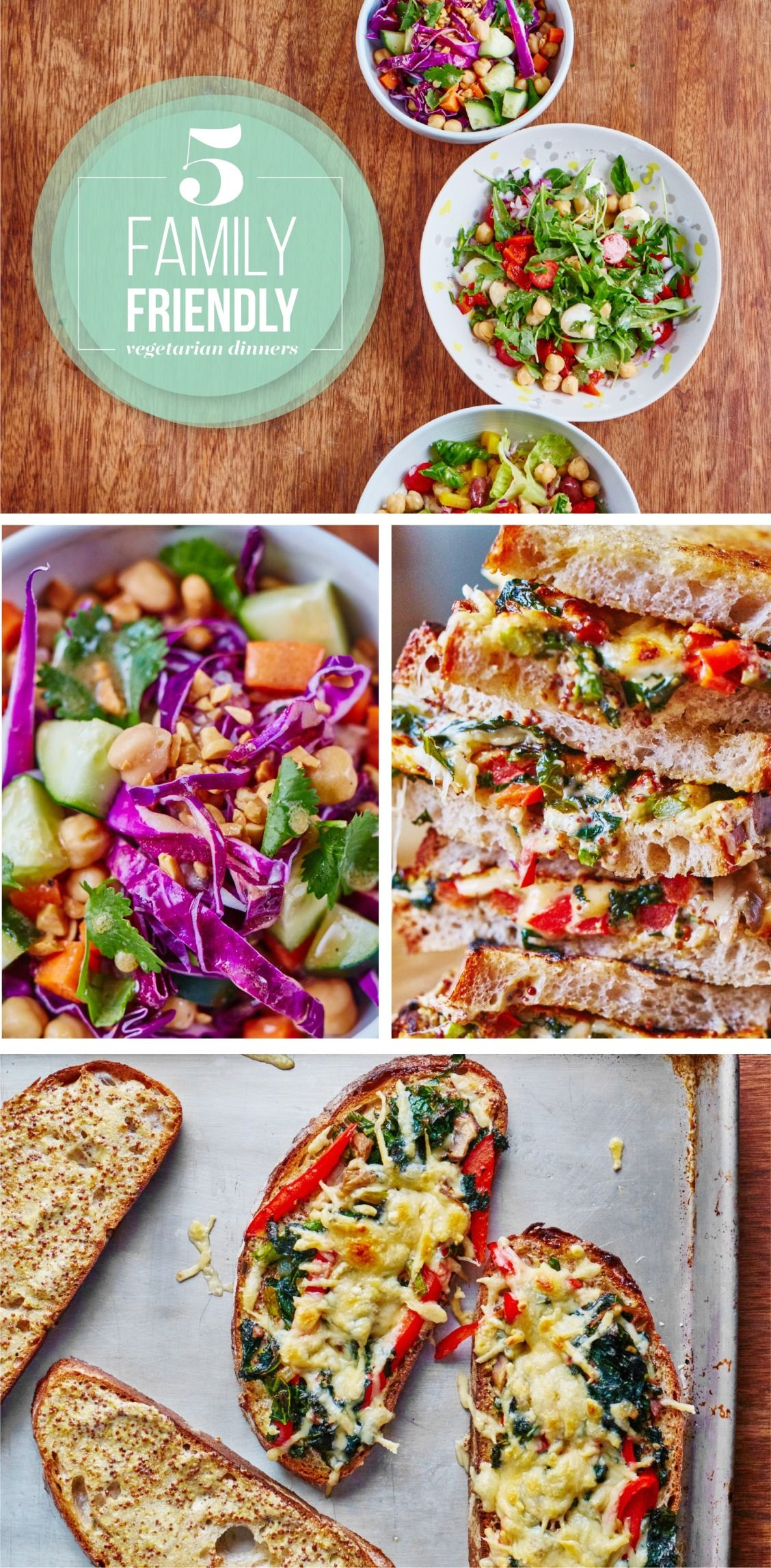 5 Family Friendly Vegetarian Dinners For Next Week S Meal Plan Quick Family Meals Easy Family Meals Quick Easy Family Meals