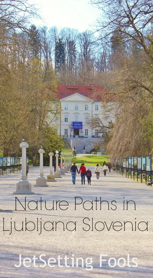 Ljubljana, Slovenia is a very walkable city. The bright and wide pedestrian-only streets that run along the river through the heart of town are only the beginning. In the week we've spent discovering the city, we've found several nature paths in Ljubljana and love how the city and nature coexist.