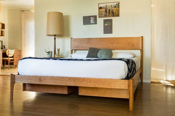 Best Classic Modern Bed With Storage Mid Century Danish Modern 640 x 480