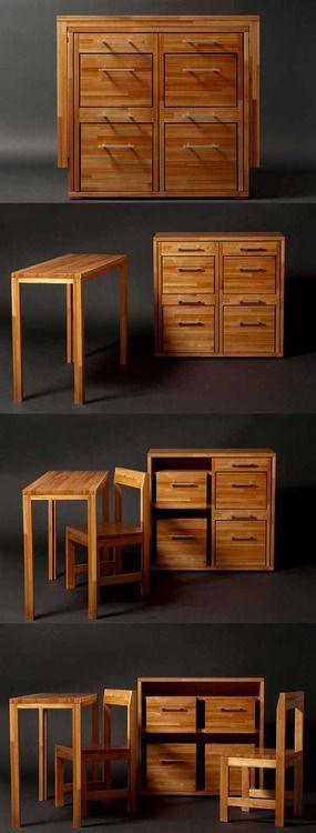 Smart & Compact : Ludovico Furniture For Small Spaces