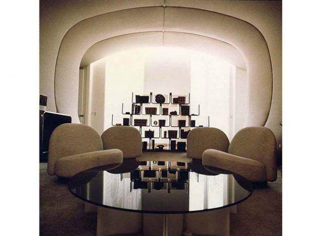 Designer à connaître pierre paulin elle décoration futuristic interiorspace ageles puces du