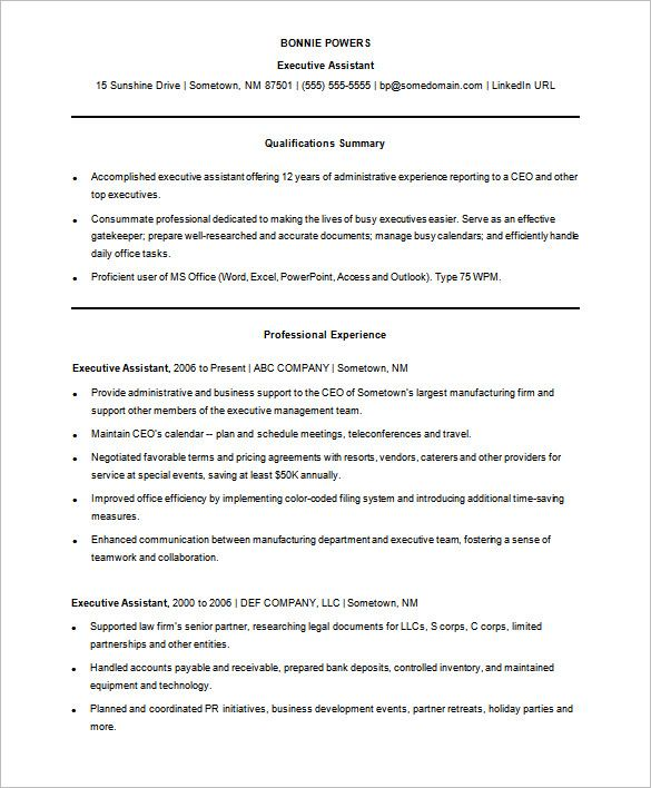 Resume Templates For Free Sample Functional Resume Template Free  A Successful Resume