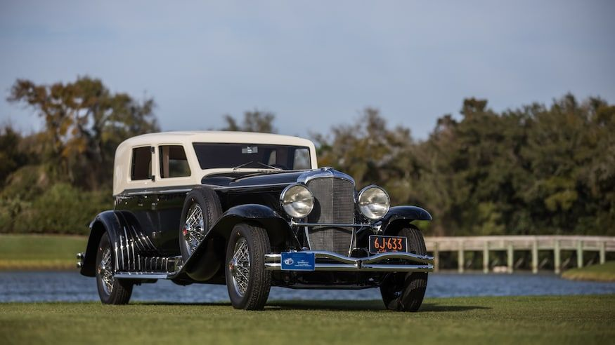 It's a Duesey! 1929 Duesenburg and 1973 Porsche 917/30 Win Big at 2020 Amelia Island Concours
