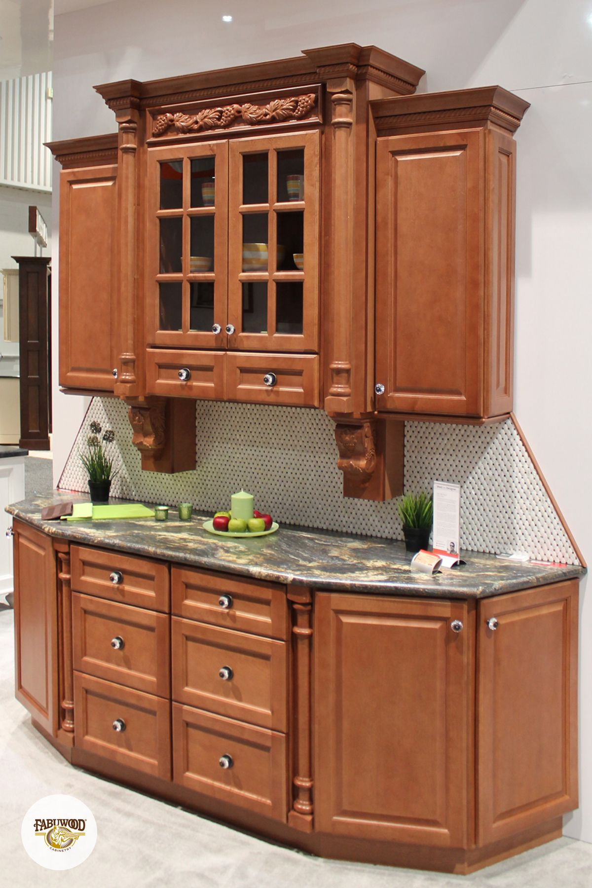 How beautiful is the Hallmark in Pecan finish? Check out ...