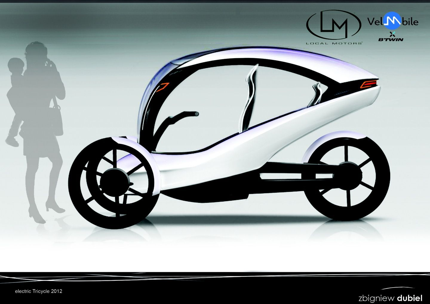 Electric Tricycle Design With Focus On Reliability Accessibility The Bmw I1 Is An Singleseater Trikecar Concept By Designer And Safety For One Adult Special Access Baby