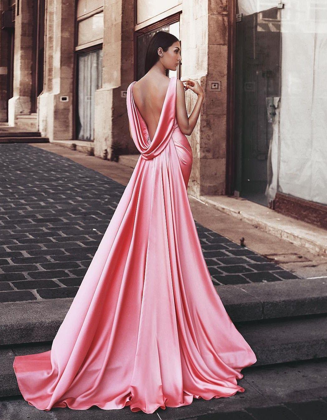 b49e6ab848d361 Rosa Abendkleider Lang Günstig Abendmoden Abiballkleider  Online_Brautkleider,Abiballkleider,Abendkleider