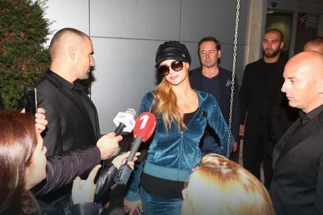 Paris Hilton promised a wild night in Belgrade