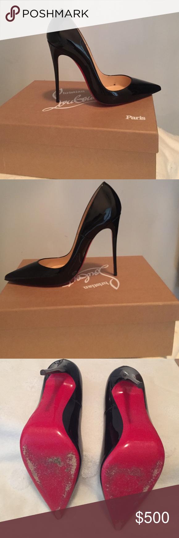Christian Louboutin Zapato de barco gradient