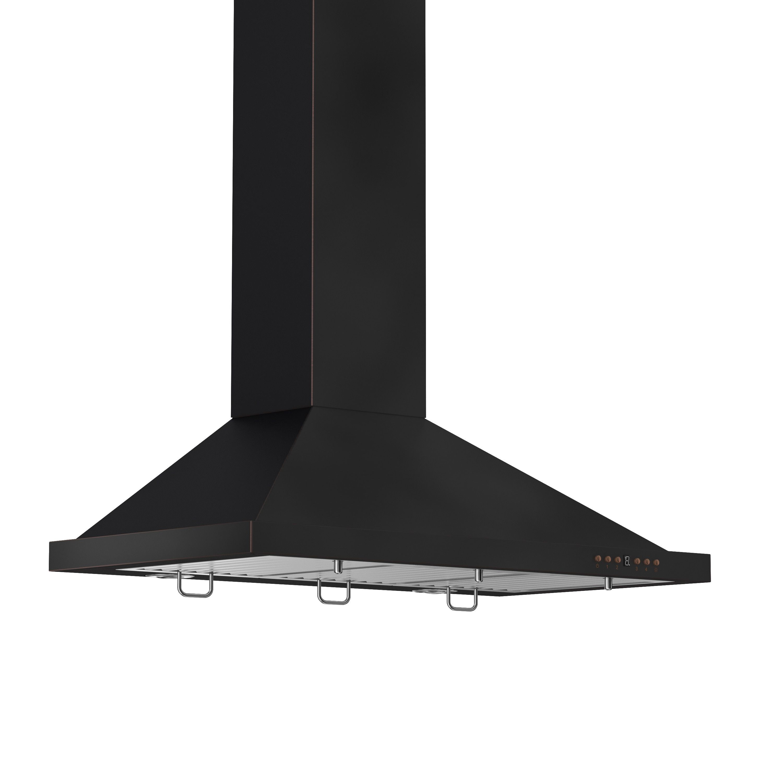 42 inch range hood. Zline 42-inch 760 CFM Designer Series Wall Mount Range Hood (8KBB-42) (42 In.), Black (Stainless Steel) 42 Inch L